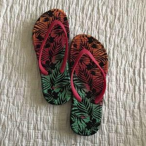 Nike SolarSoft Girls 5Y Flip Flops